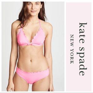 👙 NWT! Kate Spade New York Scalloped Bikini